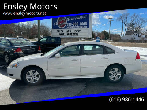 2009 Chevrolet Impala for sale at Ensley Motors in Allendale MI