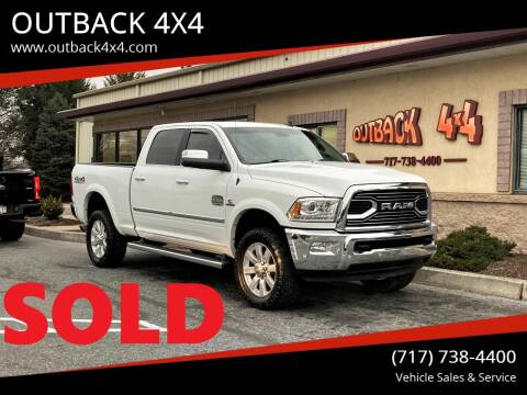 2018 RAM Ram Pickup 2500 for sale at OUTBACK 4X4 in Ephrata PA