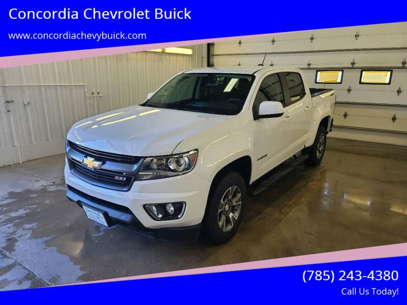 2018 Chevrolet Colorado for sale at Concordia Chevrolet Buick in Concordia KS