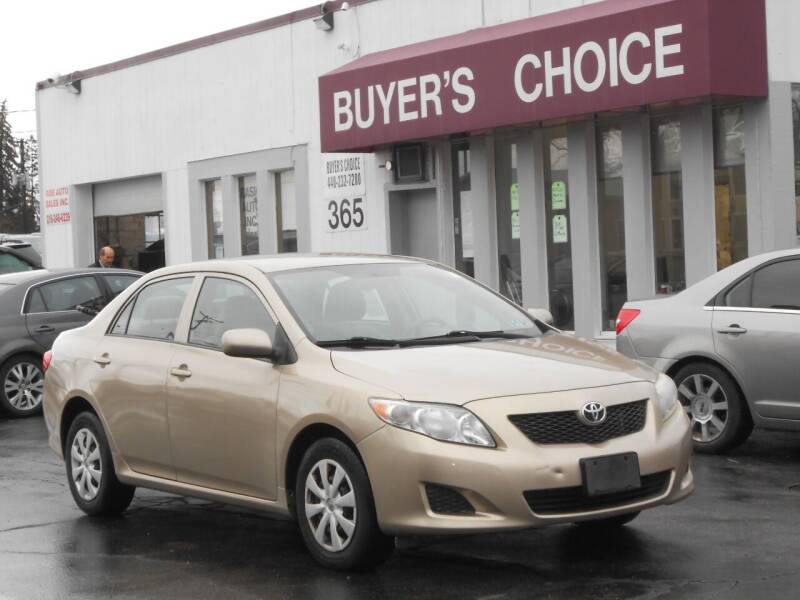 2009 Toyota Corolla for sale at Buyers Choice Auto Sales in Bedford OH