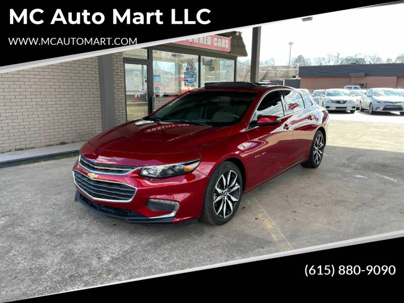 Used Chevrolet Malibu For Sale In Murfreesboro Tn Carsforsale Com