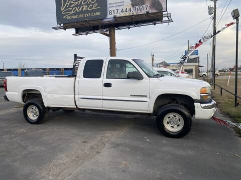 2003 GMC Sierra 2500 for sale at Bam Auto Sales in Azle TX