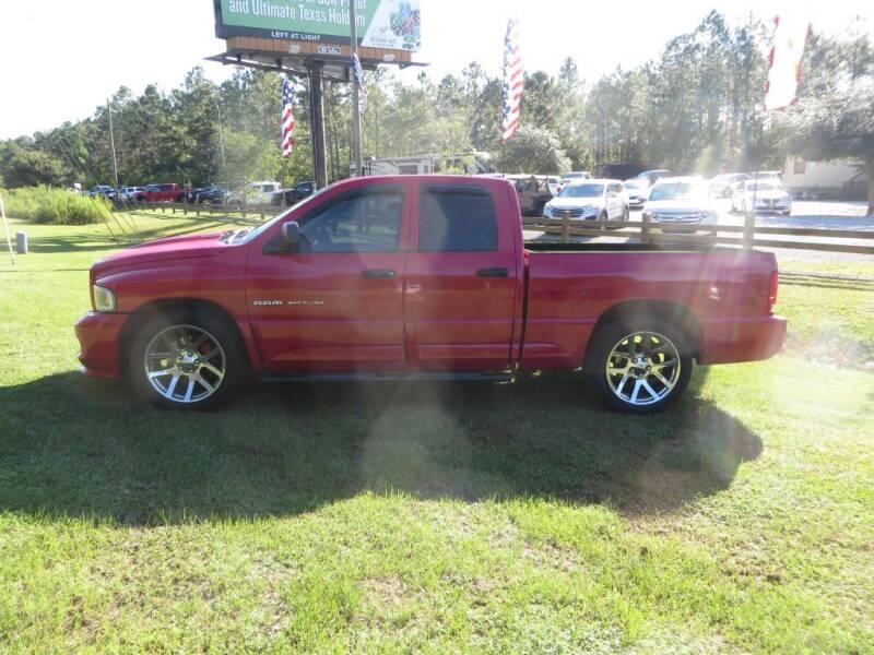 2005 Dodge Ram Pickup 1500 SRT-10 for sale at Ward's Motorsports in Pensacola FL
