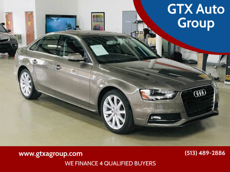 2014 Audi A4 for sale at GTX Auto Group in West Chester OH