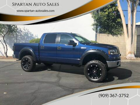 2007 Ford F-150 for sale at Spartan Auto Sales in Upland CA