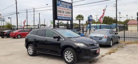 2011 Mazda CX-7 for sale at S.A. BROADWAY MOTORS INC in San Antonio TX