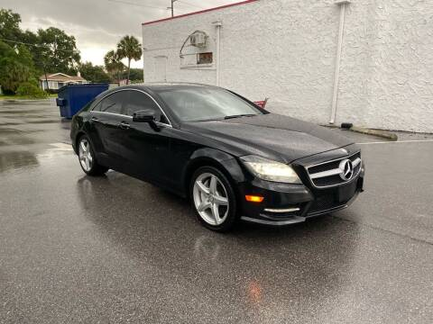 2014 Mercedes-Benz CLS for sale at LUXURY AUTO MALL in Tampa FL