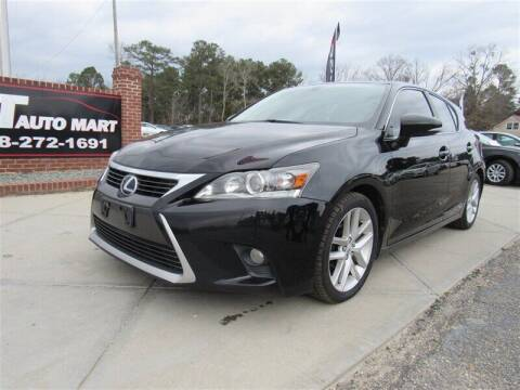 2014 Lexus CT 200h for sale at J T Auto Group in Sanford NC