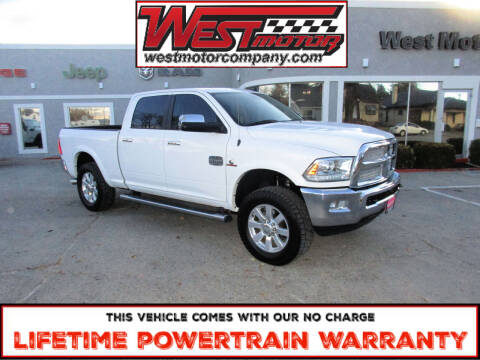 2015 RAM Ram Pickup 3500 for sale at West Motor Company in Hyde Park UT