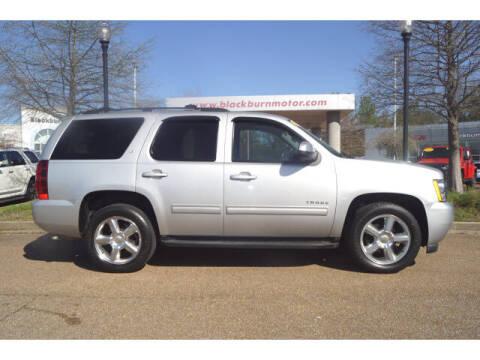 2011 Chevrolet Tahoe for sale at BLACKBURN MOTOR CO in Vicksburg MS