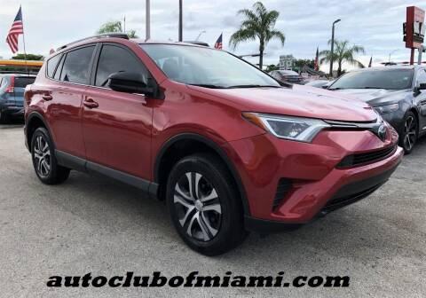 2017 Toyota RAV4 for sale at AUTO CLUB OF MIAMI, INC in Miami FL