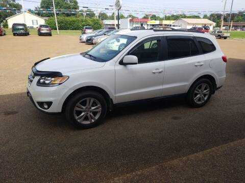 2012 Hyundai Santa Fe for sale at Frontline Auto Sales in Martin TN