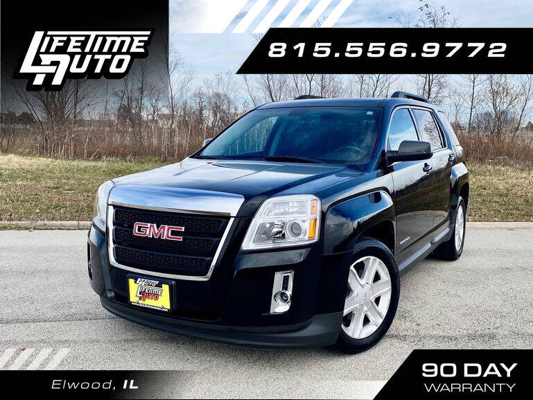 2011 GMC Terrain for sale at Lifetime Auto in Elwood IL