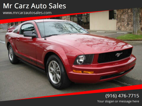 2005 Ford Mustang for sale at Mr Carz Auto Sales in Sacramento CA