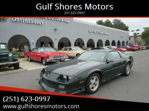 1992 Chevrolet Camaro for sale at Gulf Shores Motors in Gulf Shores AL