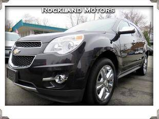 2013 Chevrolet Equinox for sale at Rockland Automall - Rockland Motors in West Nyack NY