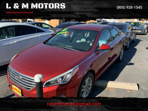 2015 Hyundai Sonata for sale at L & M MOTORS in Santa Maria CA