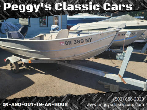 2010 Western Aluminum for sale at Peggy's Classic Cars in Oregon City OR