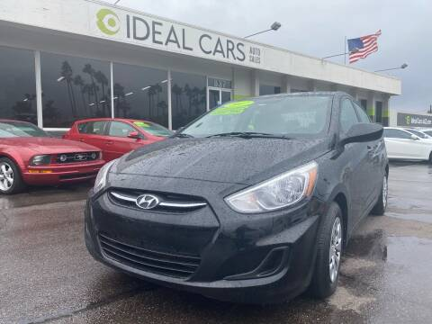 2017 Hyundai Accent for sale at Ideal Cars Broadway in Mesa AZ