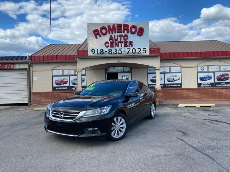 2014 Honda Accord for sale at Romeros Auto Center in Tulsa OK