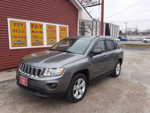 2011 Jeep Compass for sale at Mack's Autoworld in Toledo OH