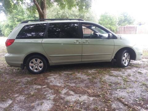2007 Toyota Sienna for sale at Royal Auto Mart in Tampa FL