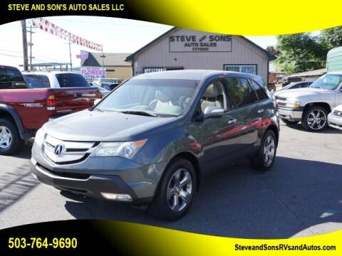 2007 Acura MDX for sale at Steve & Sons Auto Sales in Happy Valley OR