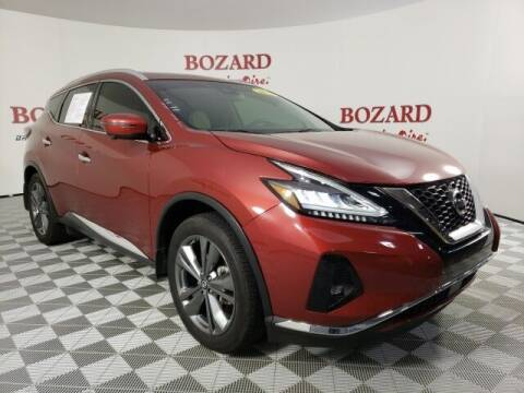 2019 Nissan Murano for sale at BOZARD FORD in Saint Augustine FL