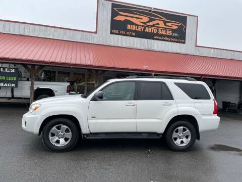 2008 Toyota 4Runner for sale at Ridley Auto Sales, Inc. in White Pine TN