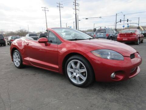2008 Mitsubishi Eclipse Spyder for sale at Fox River Motors, Inc in Green Bay WI