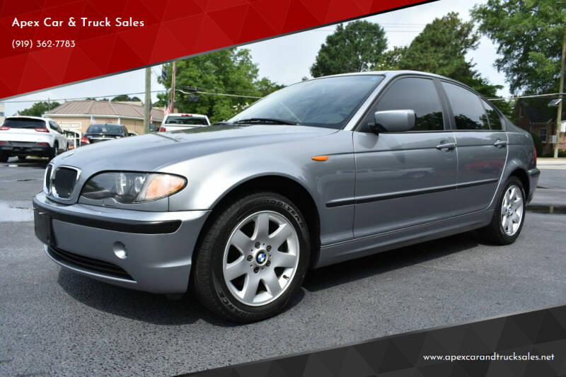 2004 BMW 3 Series for sale at Apex Car & Truck Sales in Apex NC