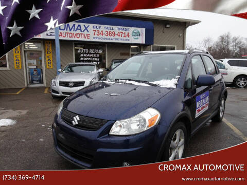 2008 Suzuki SX4 Crossover for sale at Cromax Automotive in Ann Arbor MI