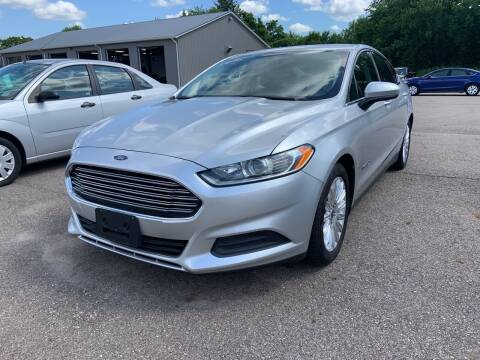 2015 Ford Fusion Hybrid for sale at Blake Hollenbeck Auto Sales in Greenville MI