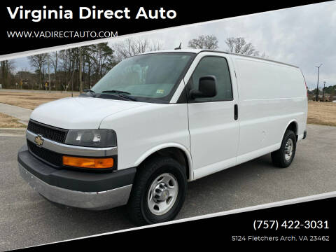 2013 Chevrolet Express Cargo for sale at Virginia Direct Auto in Virginia Beach VA