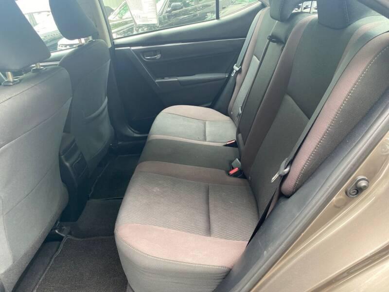 2017 Toyota Corolla LE 4dr Sedan - Elizabeth NJ