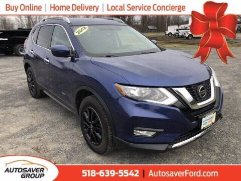 2018 Nissan Rogue for sale at Autosaver Ford in Comstock NY