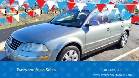 2005 Volkswagen Passat for sale at Everyone Auto Sales in Santa Clara CA