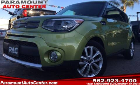 2018 Kia Soul for sale at PARAMOUNT AUTO CENTER in Downey CA