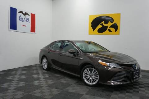 2018 Toyota Camry Hybrid for sale at Carousel Auto Group in Iowa City IA