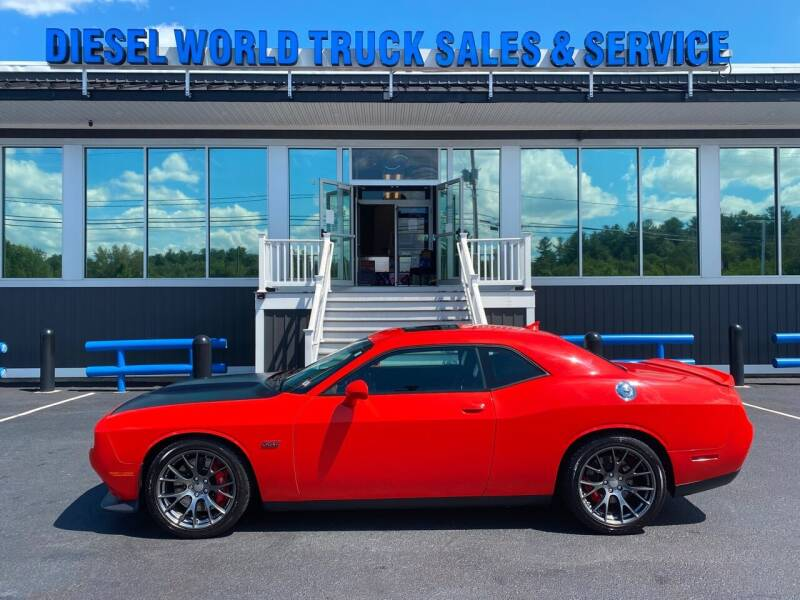 2016 Dodge Challenger for sale at Diesel World Truck Sales in Plaistow NH