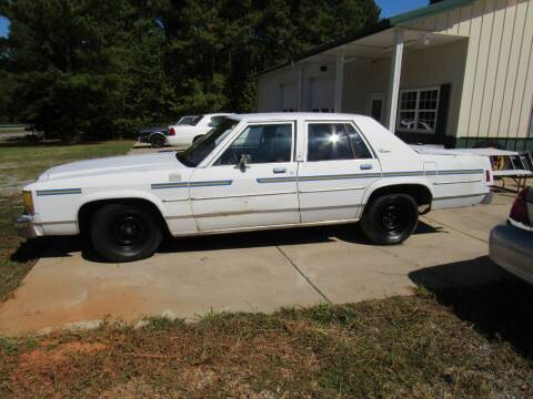 1987 Ford LTD Crown Victoria for sale at Southern Motor Company in Lancaster SC