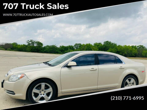 2011 Chevrolet Malibu for sale at 707 Truck Sales in San Antonio TX