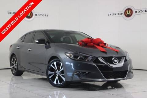 2017 Nissan Maxima for sale at INDY'S UNLIMITED MOTORS - UNLIMITED MOTORS in Westfield IN