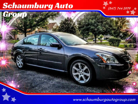 2007 Nissan Maxima for sale at Schaumburg Auto Group in Schaumburg IL