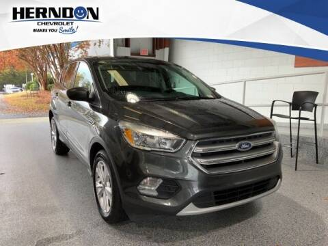 2017 Ford Escape for sale at Herndon Chevrolet in Lexington SC