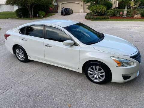 2013 Nissan Altima for sale at Exceed Auto Brokers in Lighthouse Point FL