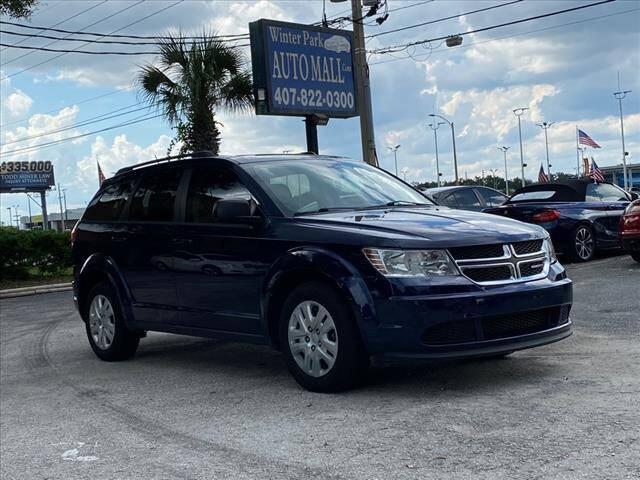 2018 Dodge Journey for sale at Winter Park Auto Mall in Orlando FL