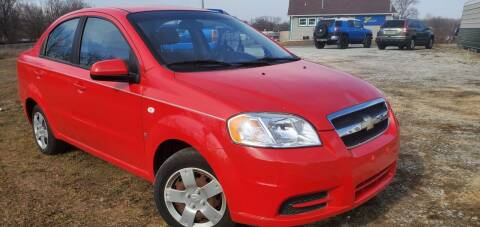 2008 Chevrolet Aveo for sale at Sinclair Auto Inc. in Pendleton IN
