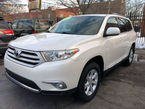 2012 Toyota Highlander for sale at Commercial Street Auto Sales in Lynn MA