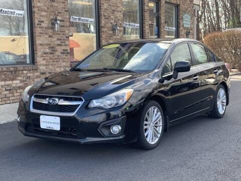 2013 Subaru Impreza for sale at The King of Credit in Clifton Park NY